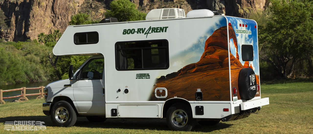 Compact RV Rental Exterior Image