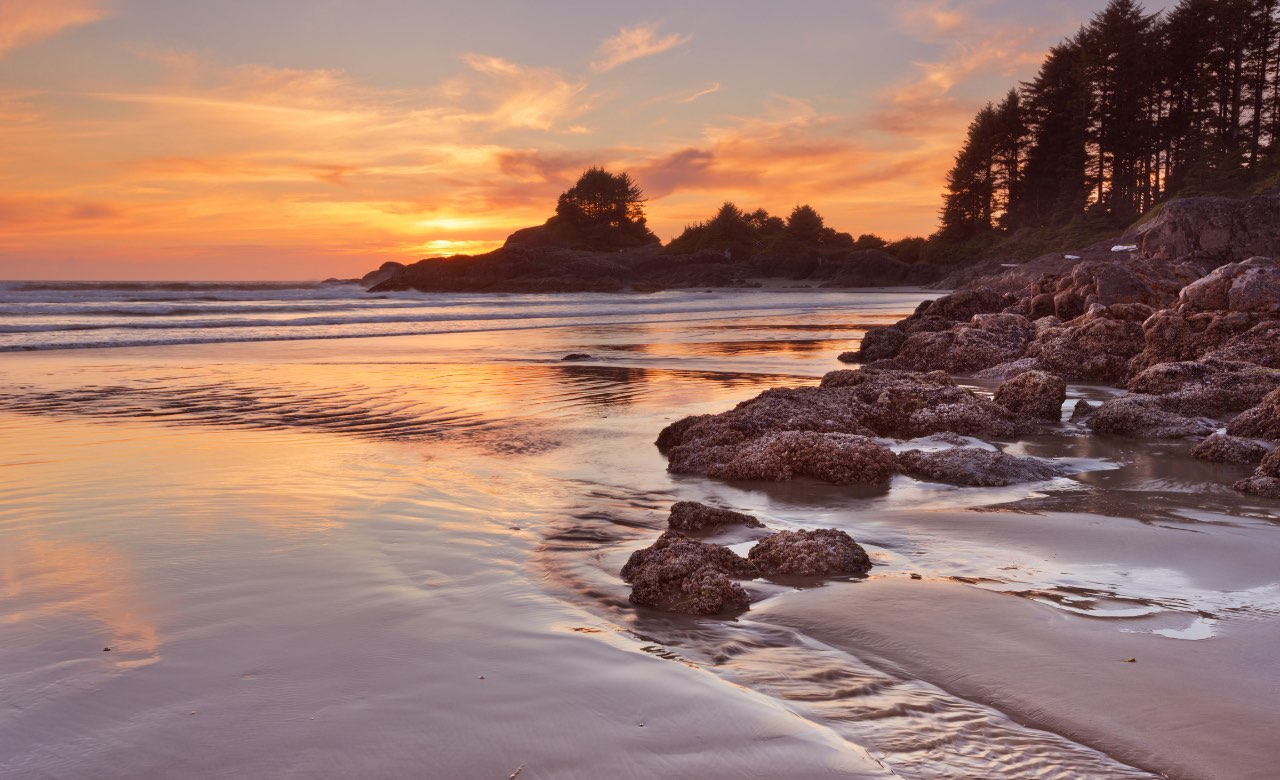 Canada's Pacific Rim National Park rv camping