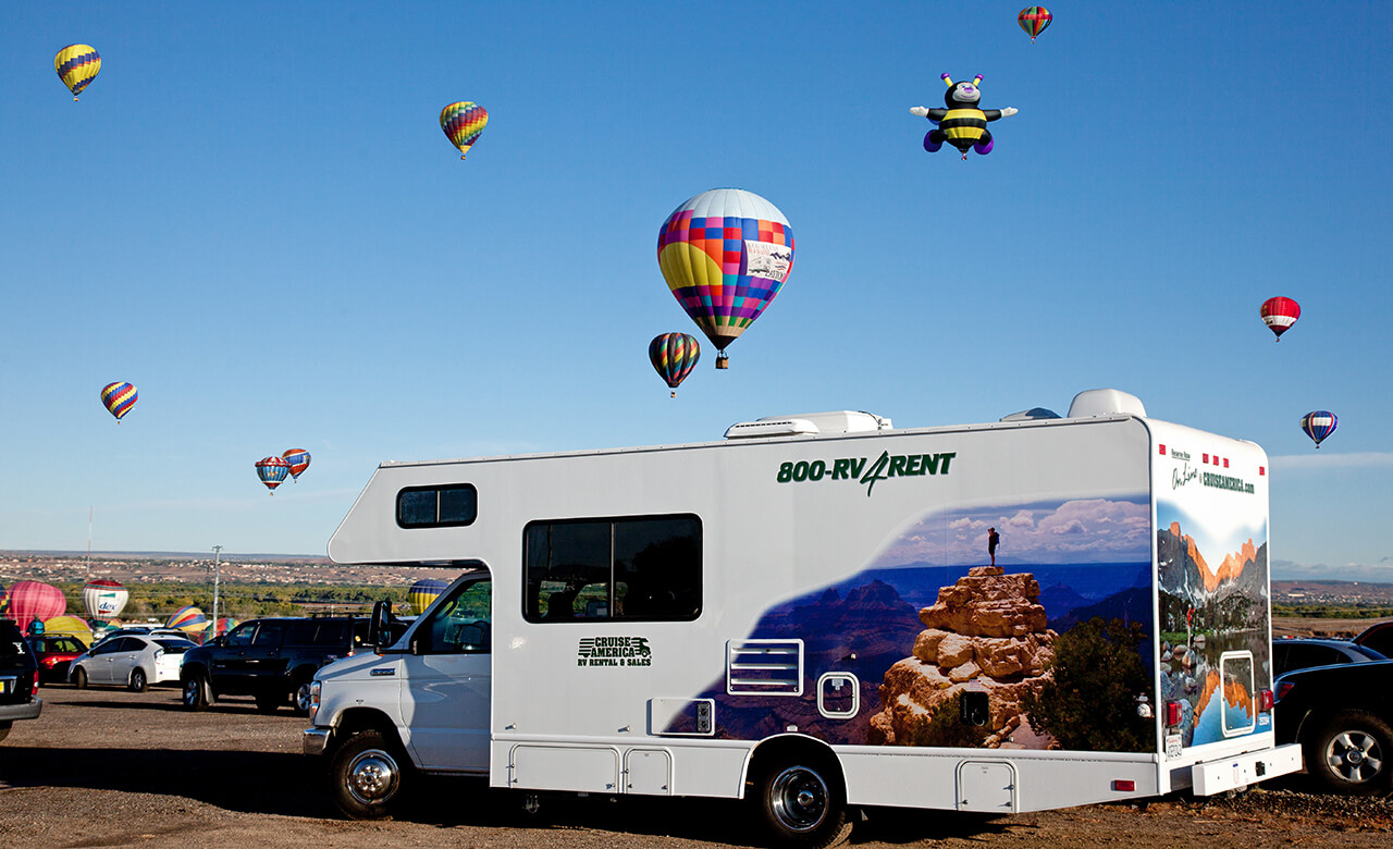 RV Camping at Albuquerque International Balloon Fiesta®