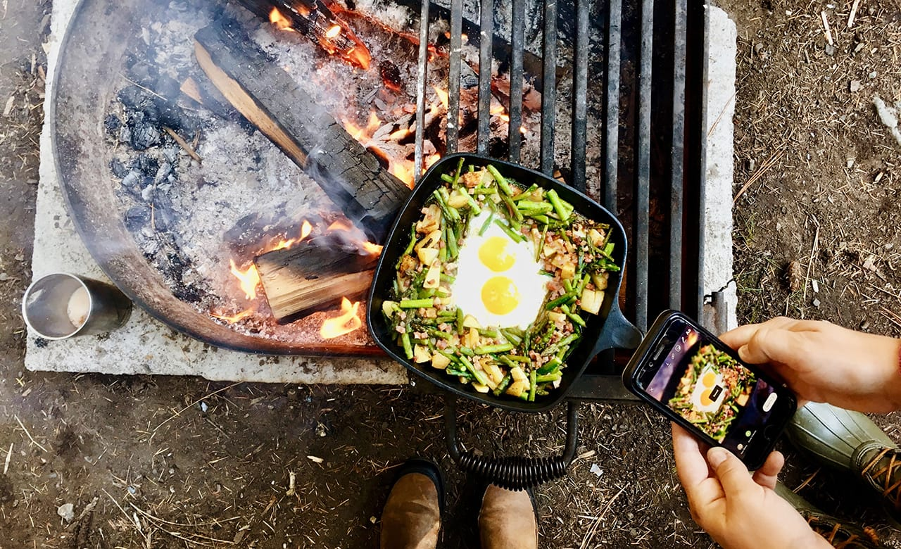 Healthy + Yummy Camping Recipes to Try in 2020