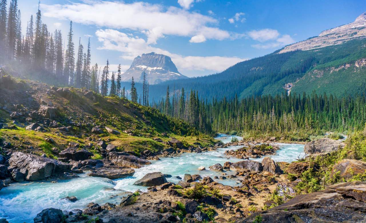 Yoho National Park rv camping