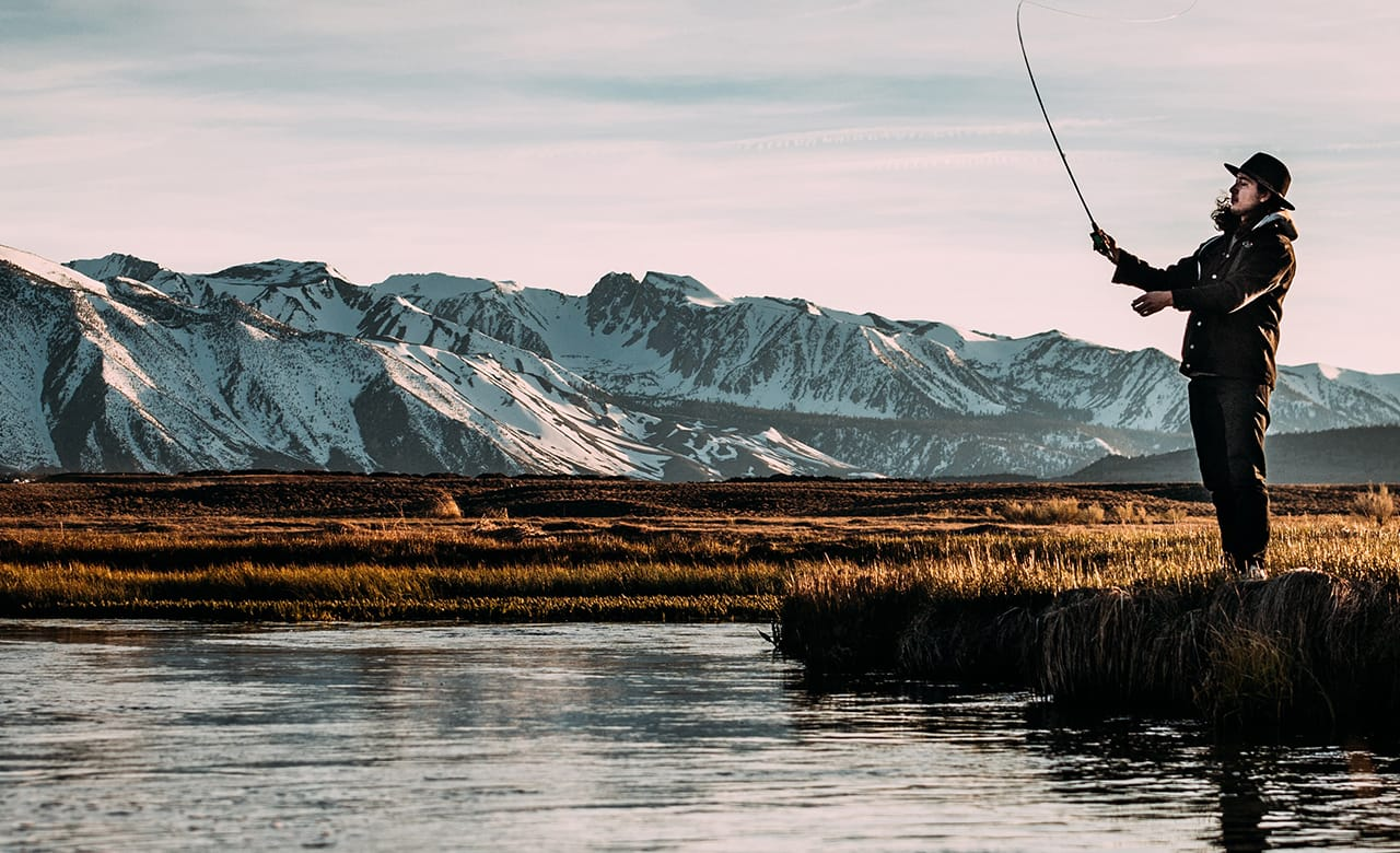 Fishing in Anchorage