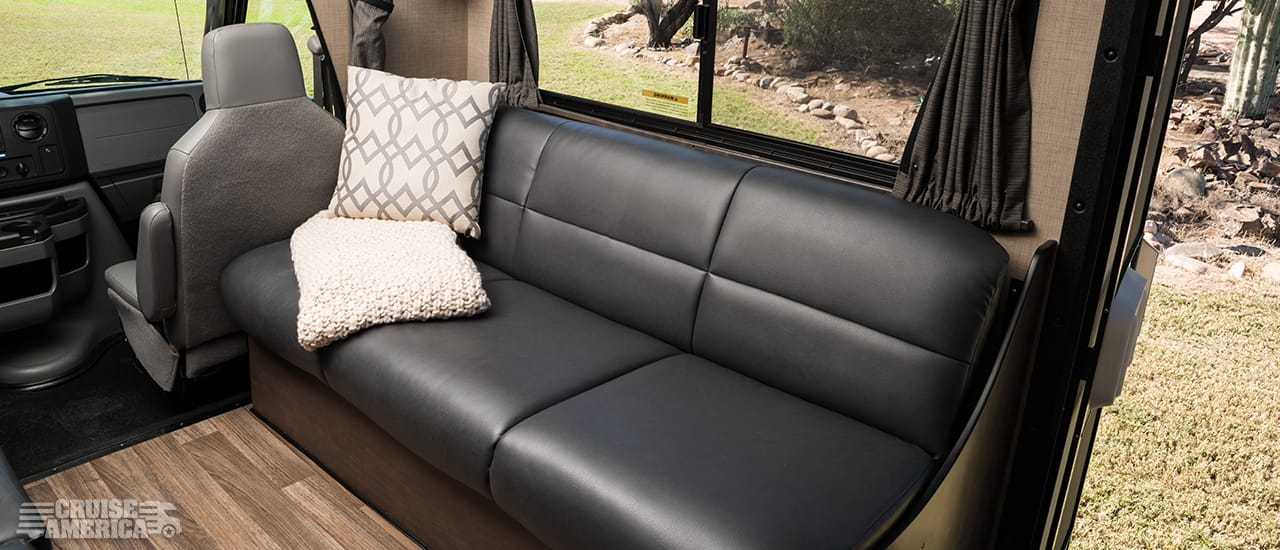 Large RV Rental Interior Image