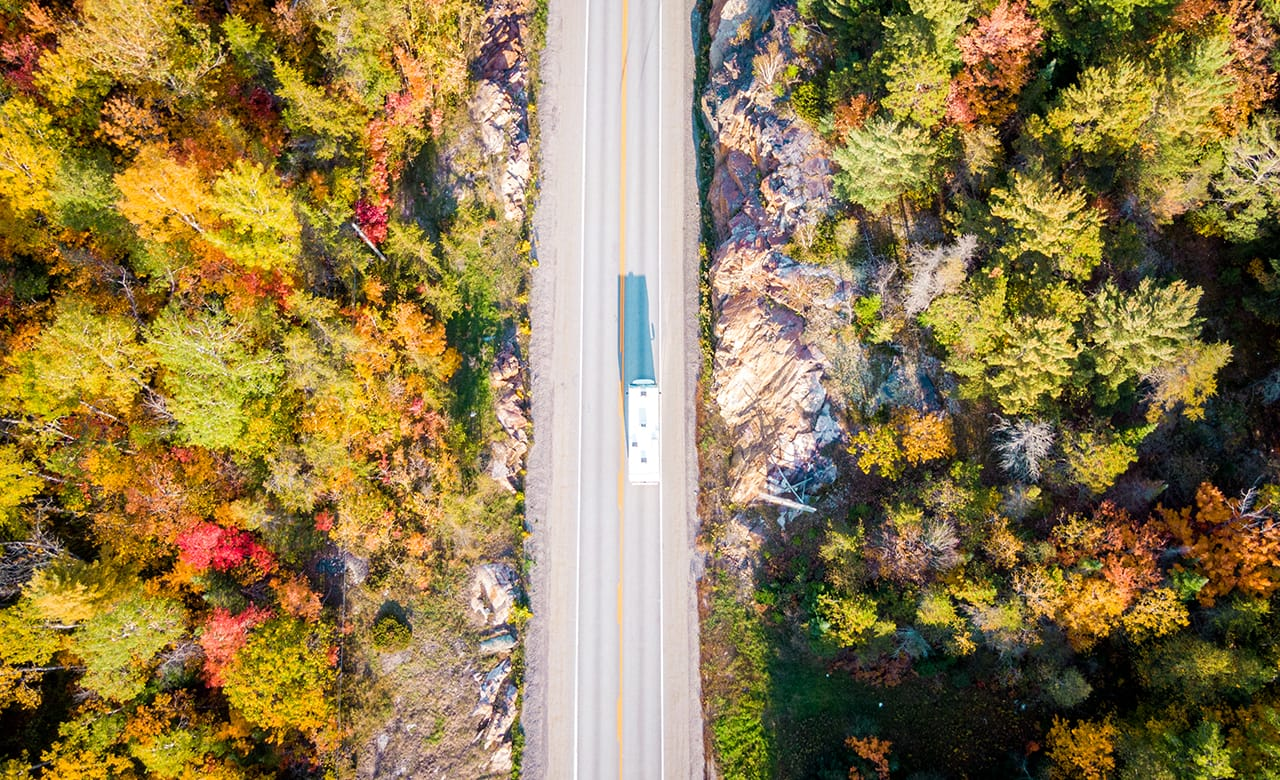 Best Canadian RV Road Trips For Fall Foliage