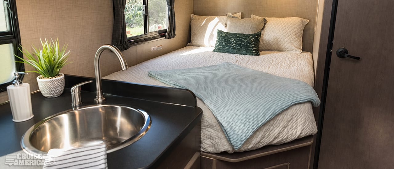 Standard RV Rental Interior Image