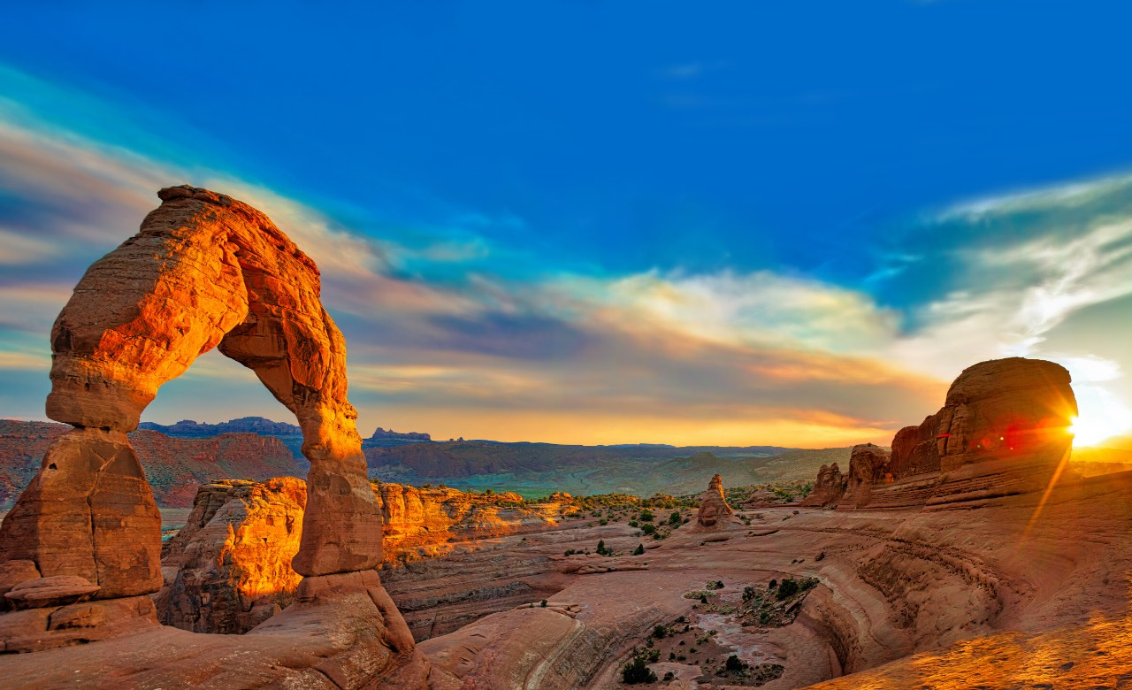 Arches National Park rv camping