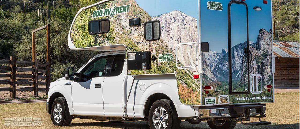 Truck Camper Rental Model Cruise America