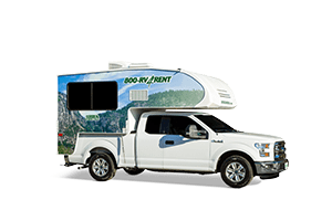 Standard RV Rental Model 25' - Cruise America
