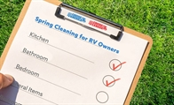 Spring Cleaning for RV Owners