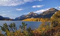 RV Camping at Waterton Lakes National Park